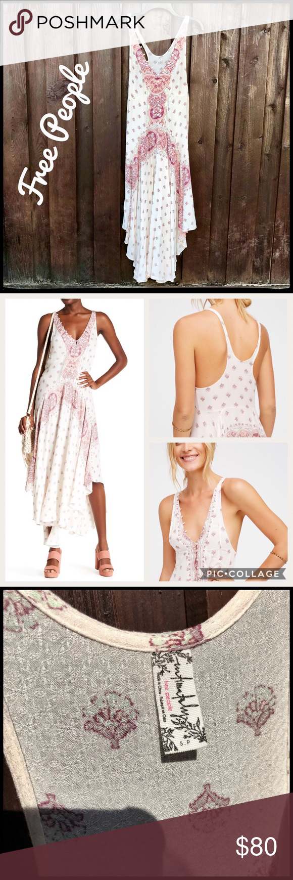 c71563626f3dc Free People Intimately Faithfully Yours Slip Dress Boho-Chick Free People  Faithfully Yours Slip Dress—Size Small—sleeveless, drop waist, flowing midi  ...