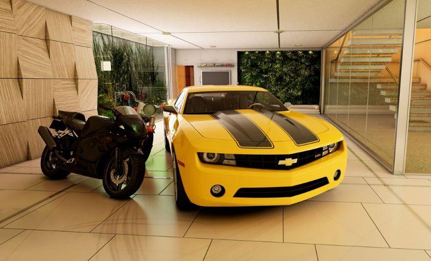 Model Desain Garasi Mobil Konsep Rumah Unik Garage Design Garage Design Interior Modern Garage Design