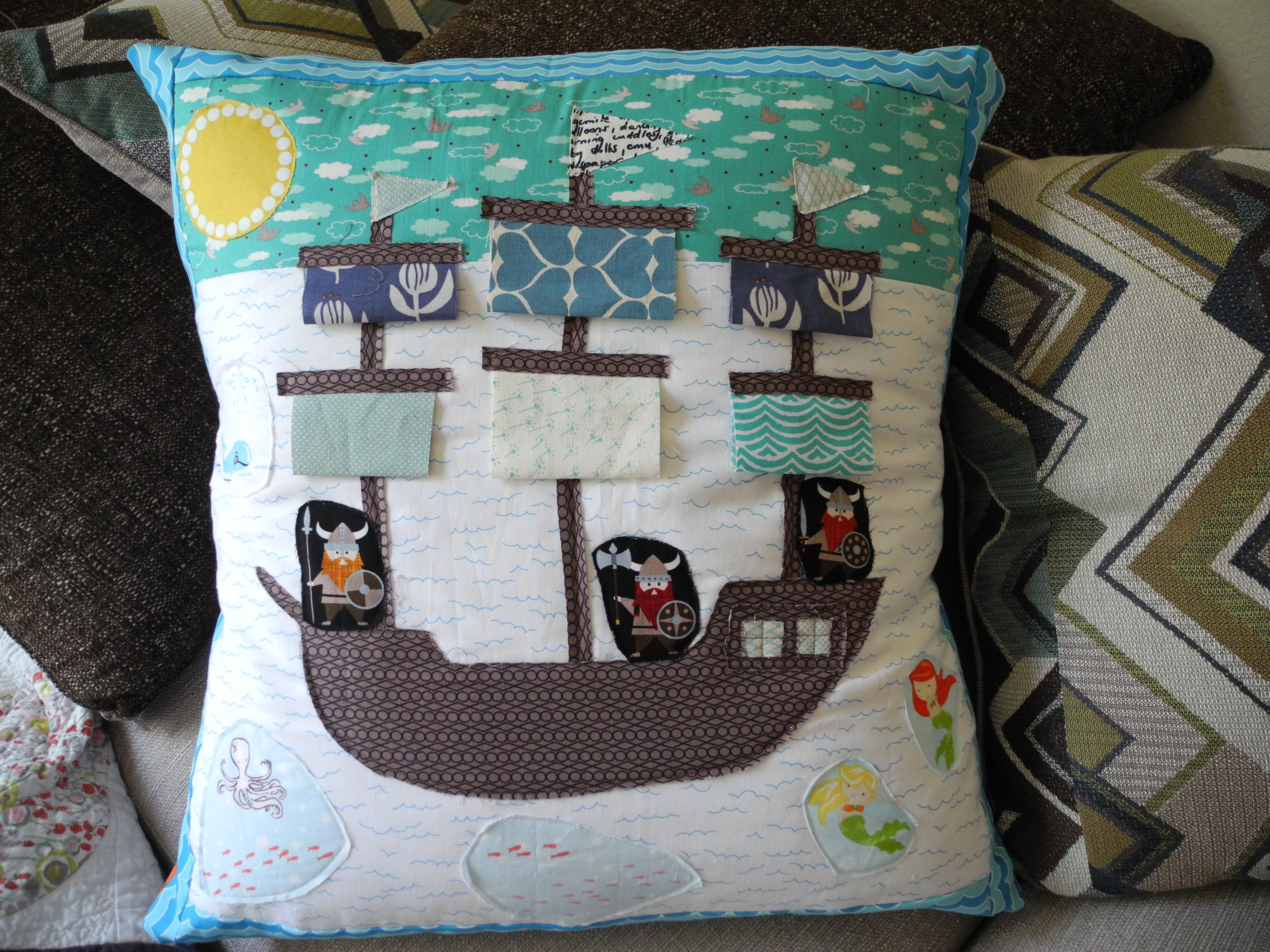Impresion En Cojines Ahoy Story Time Pillow By What The Bobbin For The
