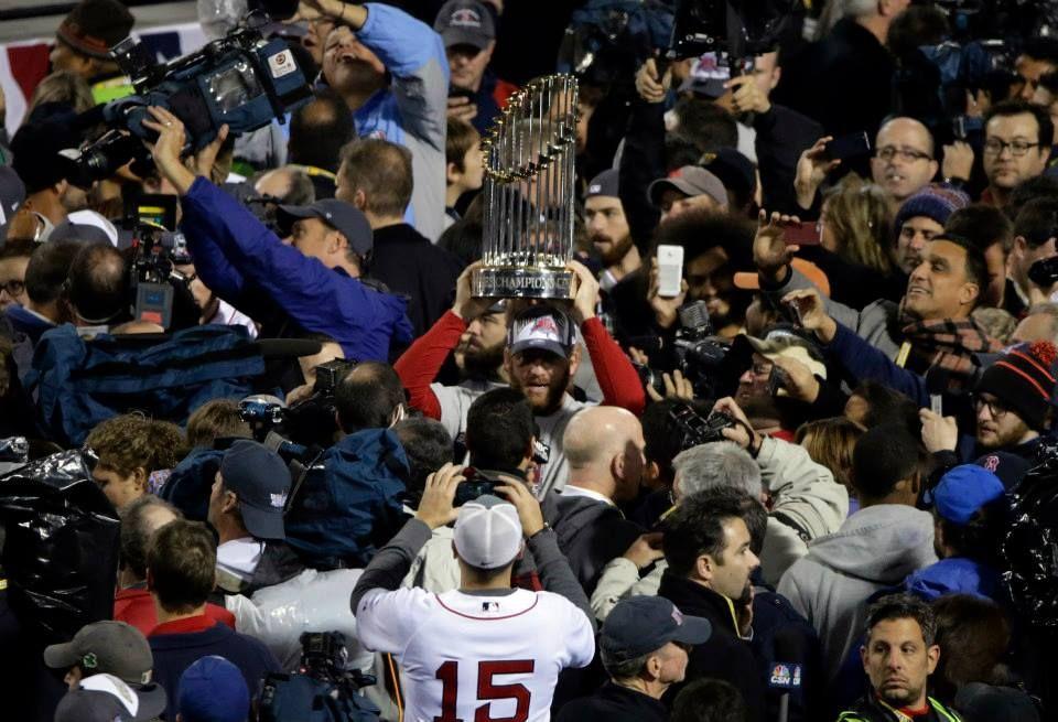 We own the 2013 World Series. Medias rojas de boston