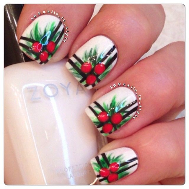 Ideas for Holiday Mani\'s | Style nails, Nail nail and Manicure