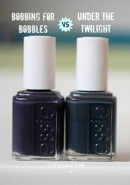 Comparison: Bobbing for Baubles vs. Under the Twlight
