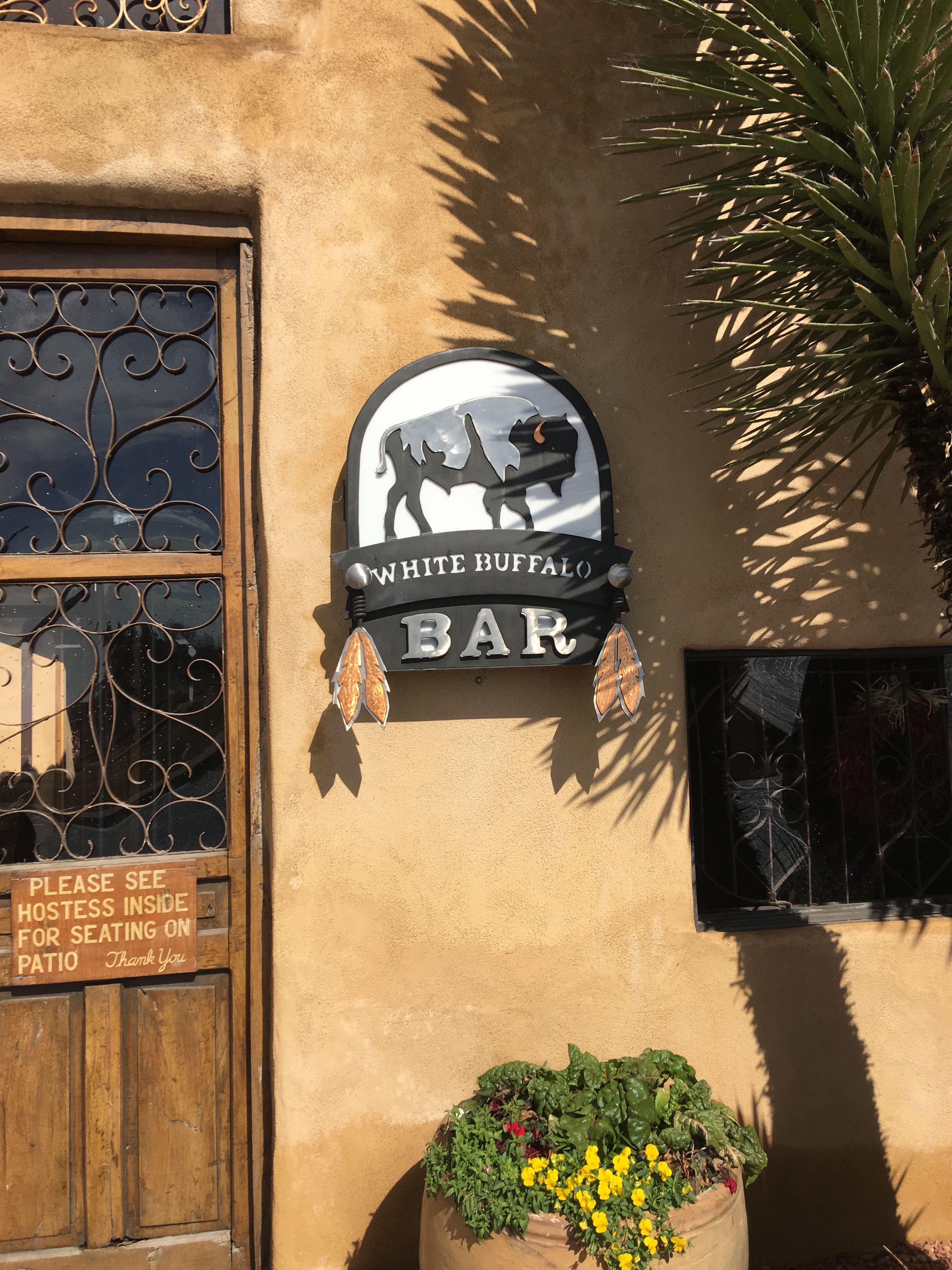 White Buffalo Bar at Gage Hotel in Marathon, TX. By Yram Martinez