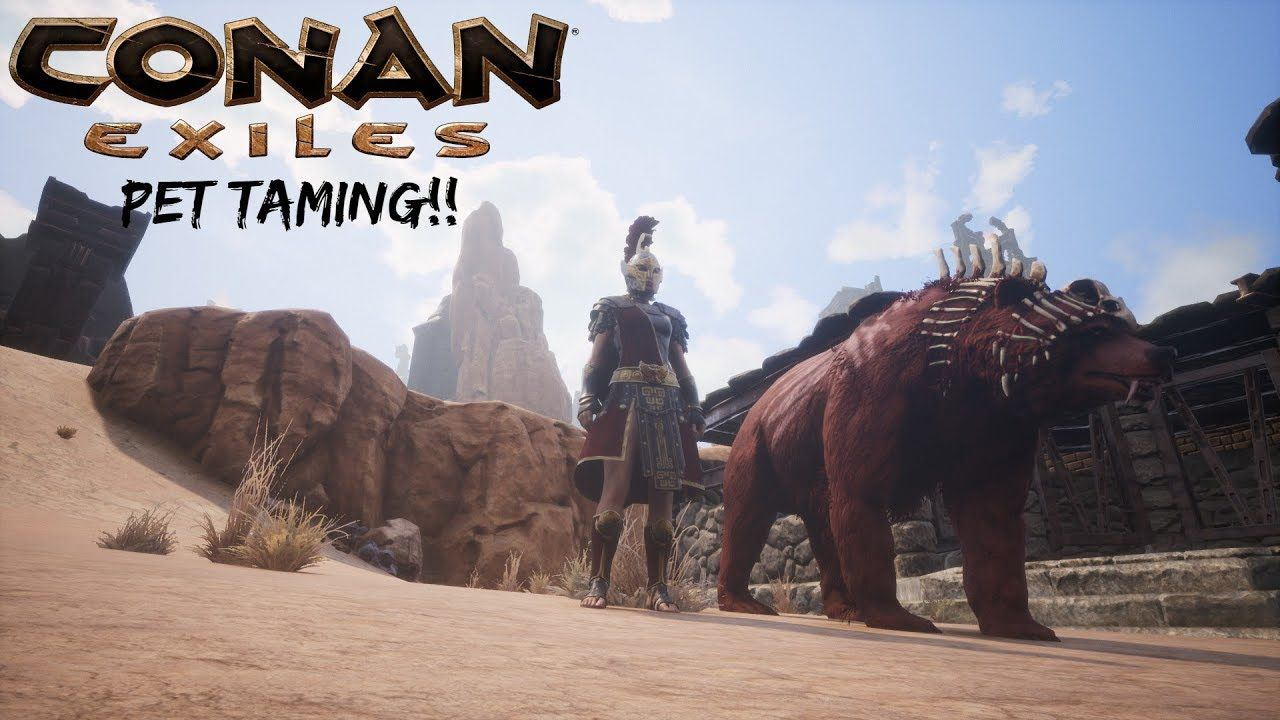 Pet Taming! - Conan Exiles Update! Gameplay Part 2 | Youtube