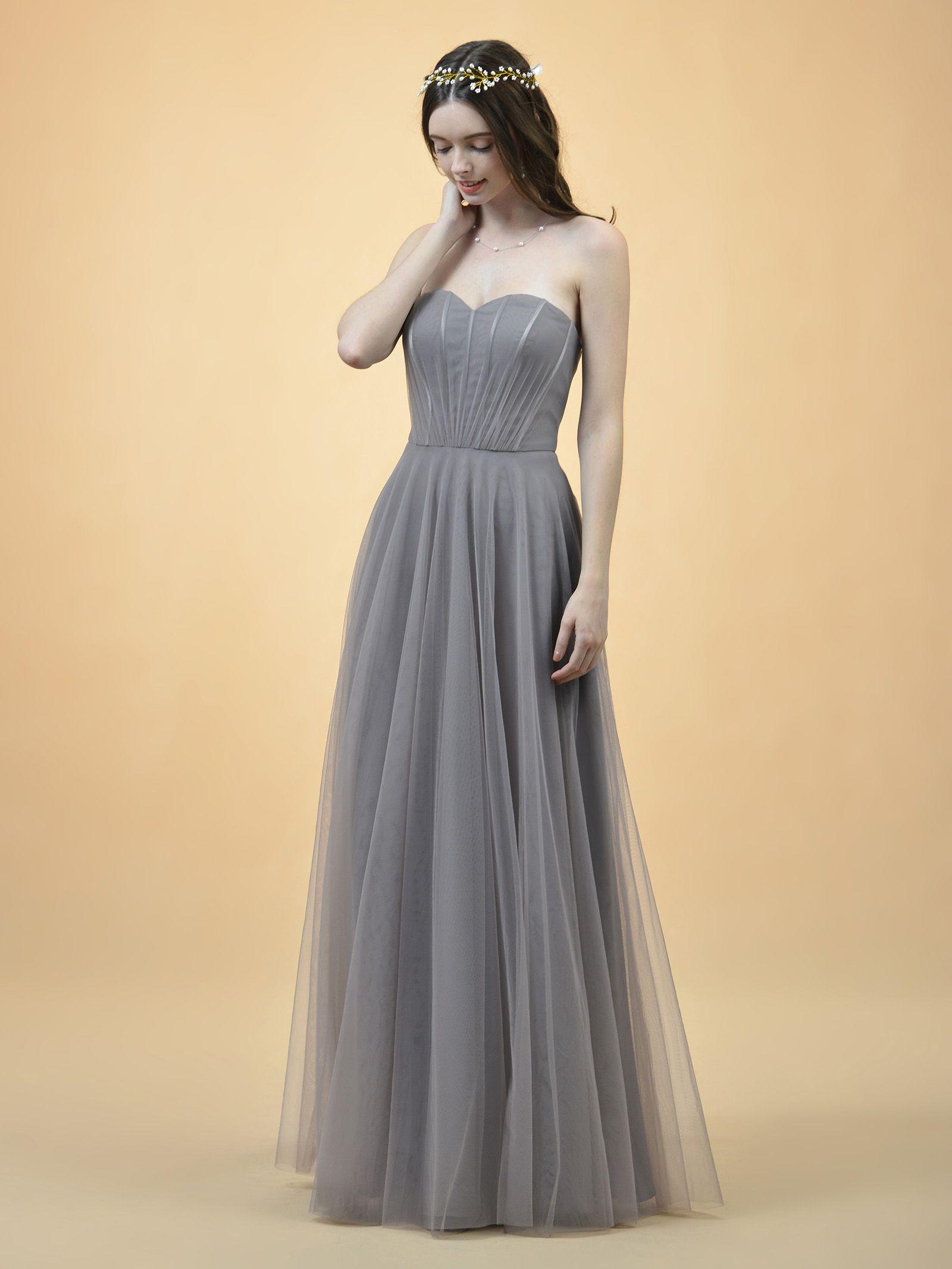 0596b756b32 Ernestine Sweetheart Strapless Bridesmaid Dress  121.00 - AW.Bridal ...
