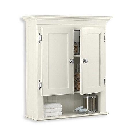 Bed Bath And Beyond Fairmont Cream Wall Cabinet 99 99 Bathroom Floor Storage Cabinet Wall Cabinet Wall Mounted Cabinet
