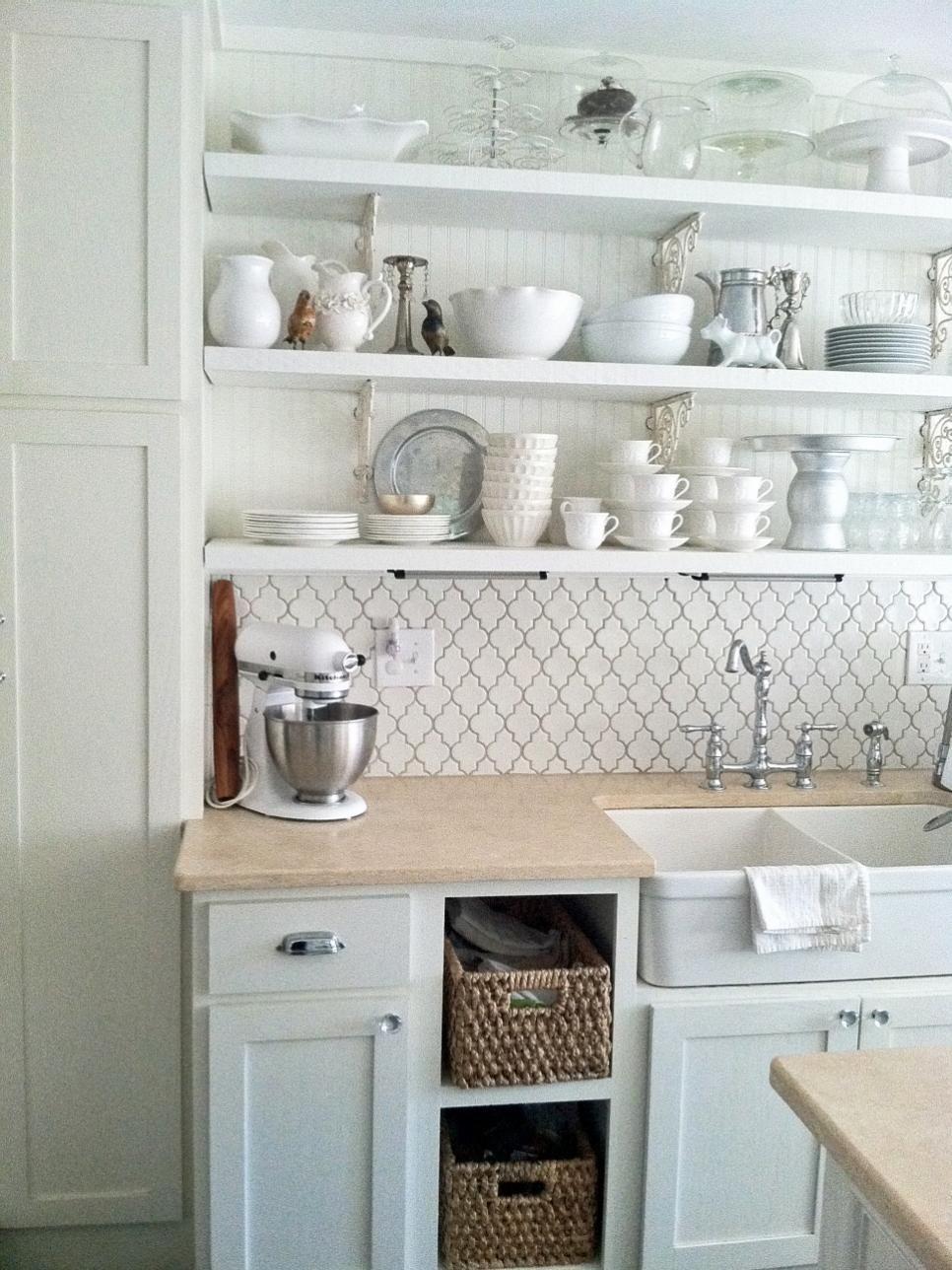 Pictures Of Kitchen Backsplash Ideas From Hgtv Cottage Style Kitchen Home Kitchens Farmhouse Kitchen Backsplash Cottage kitchen backsplash ideas