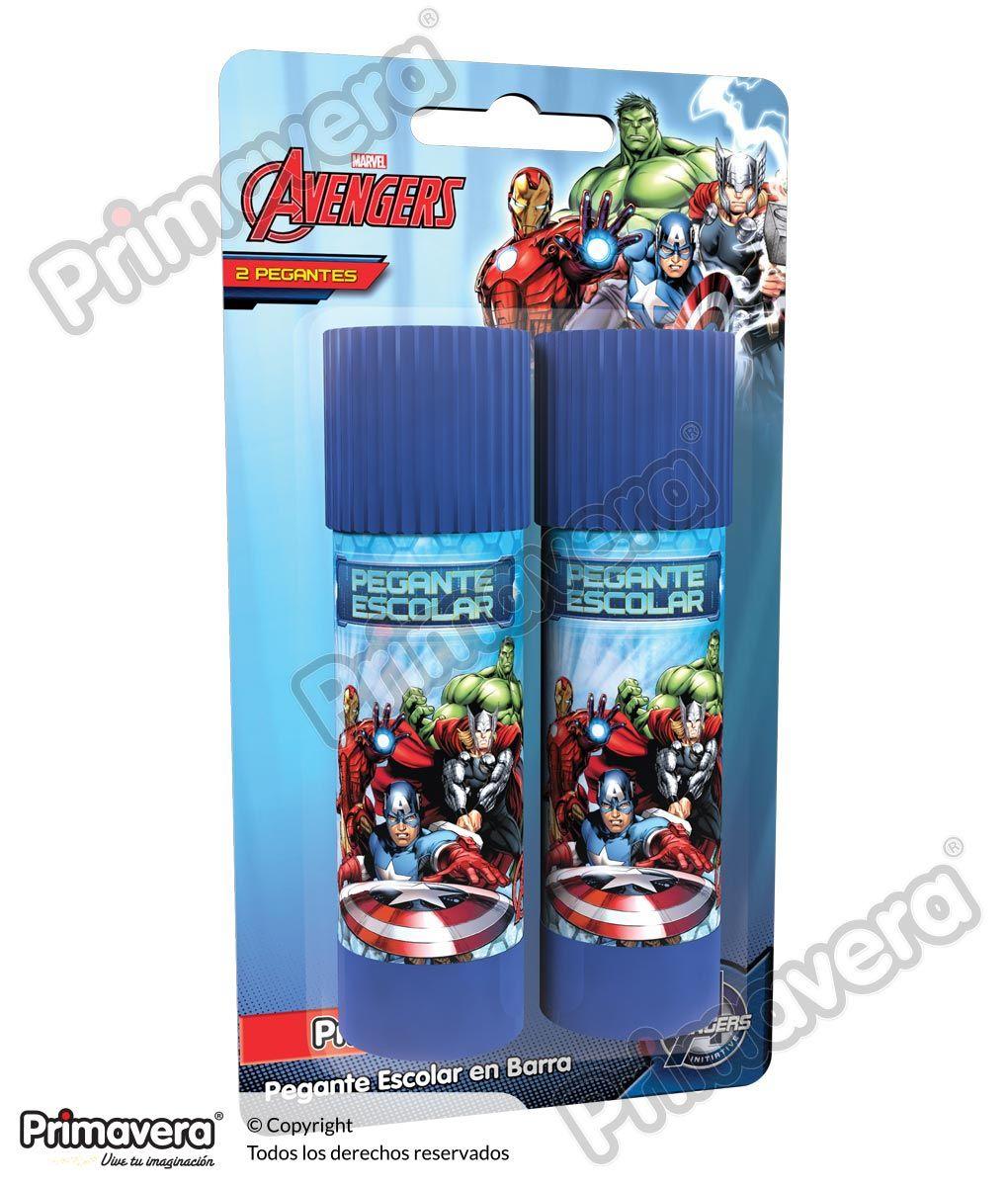 Pegante en Barra X 2 Avengers http://escritura.papelesprimavera.com/product/pegante-en-barra-x-2-avengers-primavera/