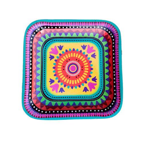 Mexican Fiesta Plates  sc 1 st  Pinterest & Mexican Fiesta Plates | Mexican fiesta Fiesta party and Fiestas