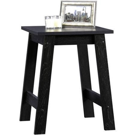 Sauder Beginnings Collection Side Table Black Walmart Com