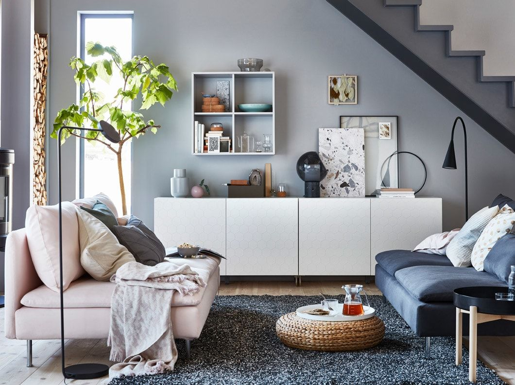 A gallery of living room inspiration  Ikea living room, Apartment