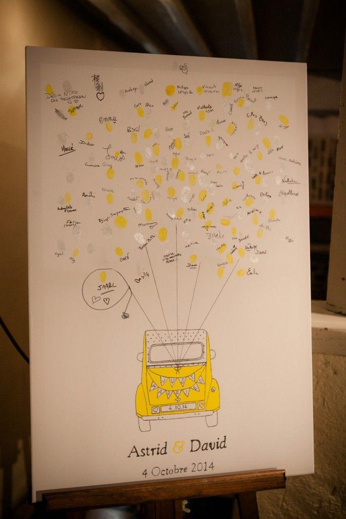 Arbre empreinte en forme de voiture mariage diy arbre empreinte arbre a empreinte - Dessin voiture mariage ...