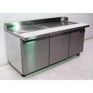 Used Continental Refrigerator Sandwich Salad Restaurant