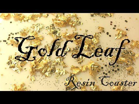 DIY Gold & Silver Resin Epoxy Wall Art - YouTube | создание ...