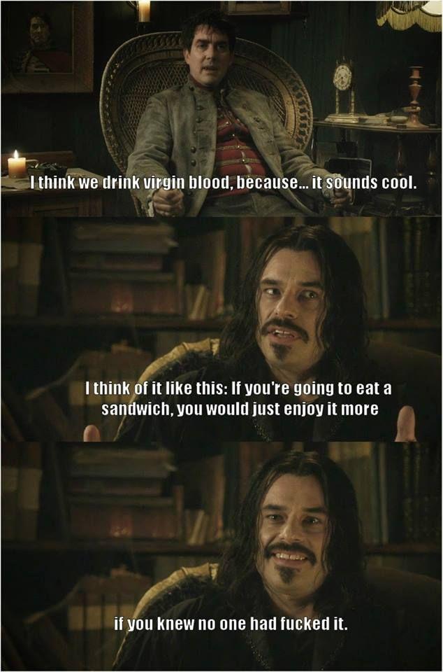 Why Vampires Prefer Virgins Imglulz Love Jemaine Clement Funny