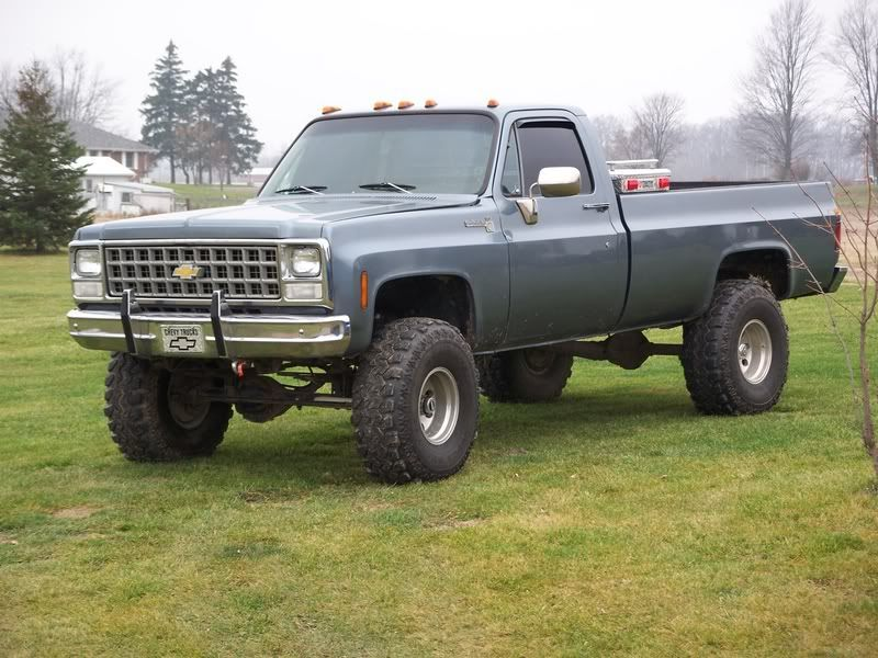 1980s Chevy Truck
