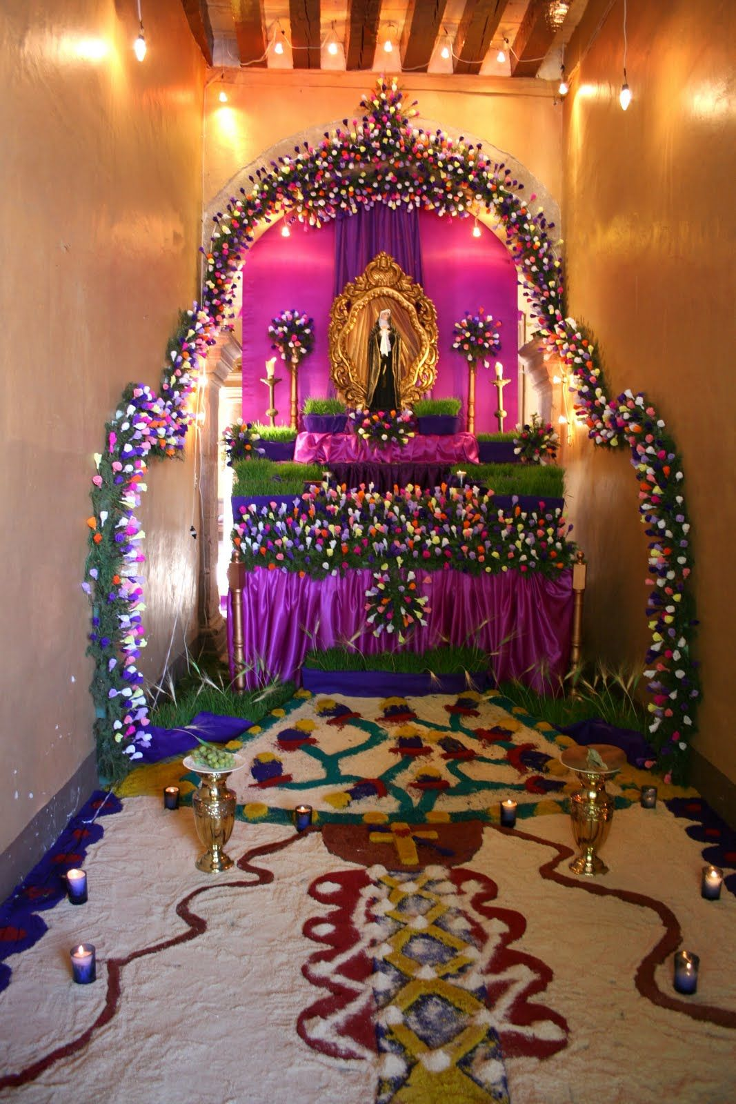 mother mary altar decoration Google Search (With images
