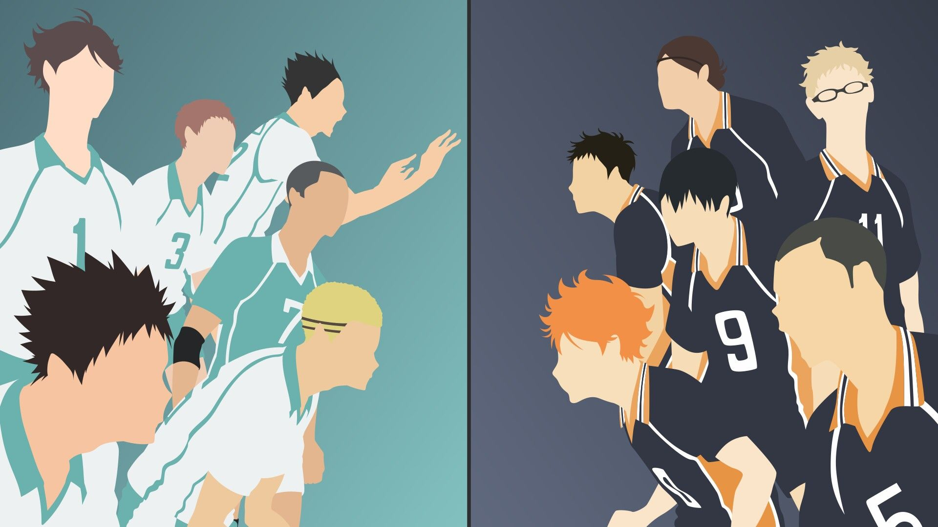 Pin By Chandra Widiat On No Face Anime Art Haikyuu Wallpaper Anime Canvas Anime Wallpaper Iphone