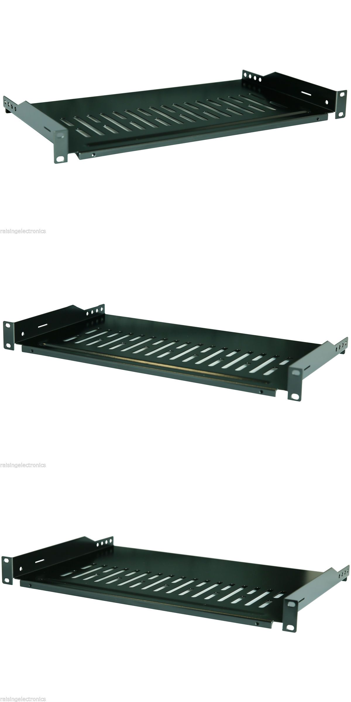 Rackmount Cabinets And Frames 51199 1u Cantilever Server Shelf Vented Shelves Rack Mount 19 1u 10 250mm Deep Buy It Wall Mount Rack Server Rack Mounting