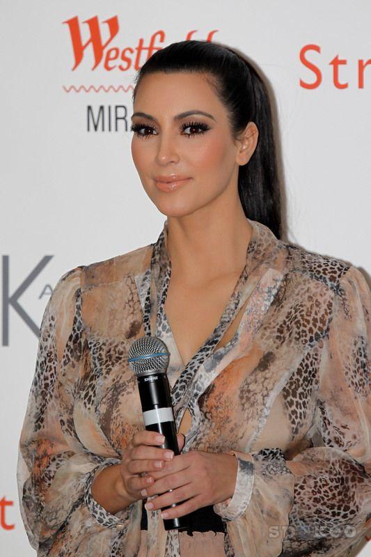 Kim Kardashian, she looks so pretty! <3