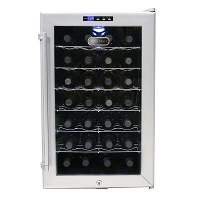 whynter 28 bottle thermoelectric wine cooler wc 28s at the home depot - Home Depot Wine Fridge