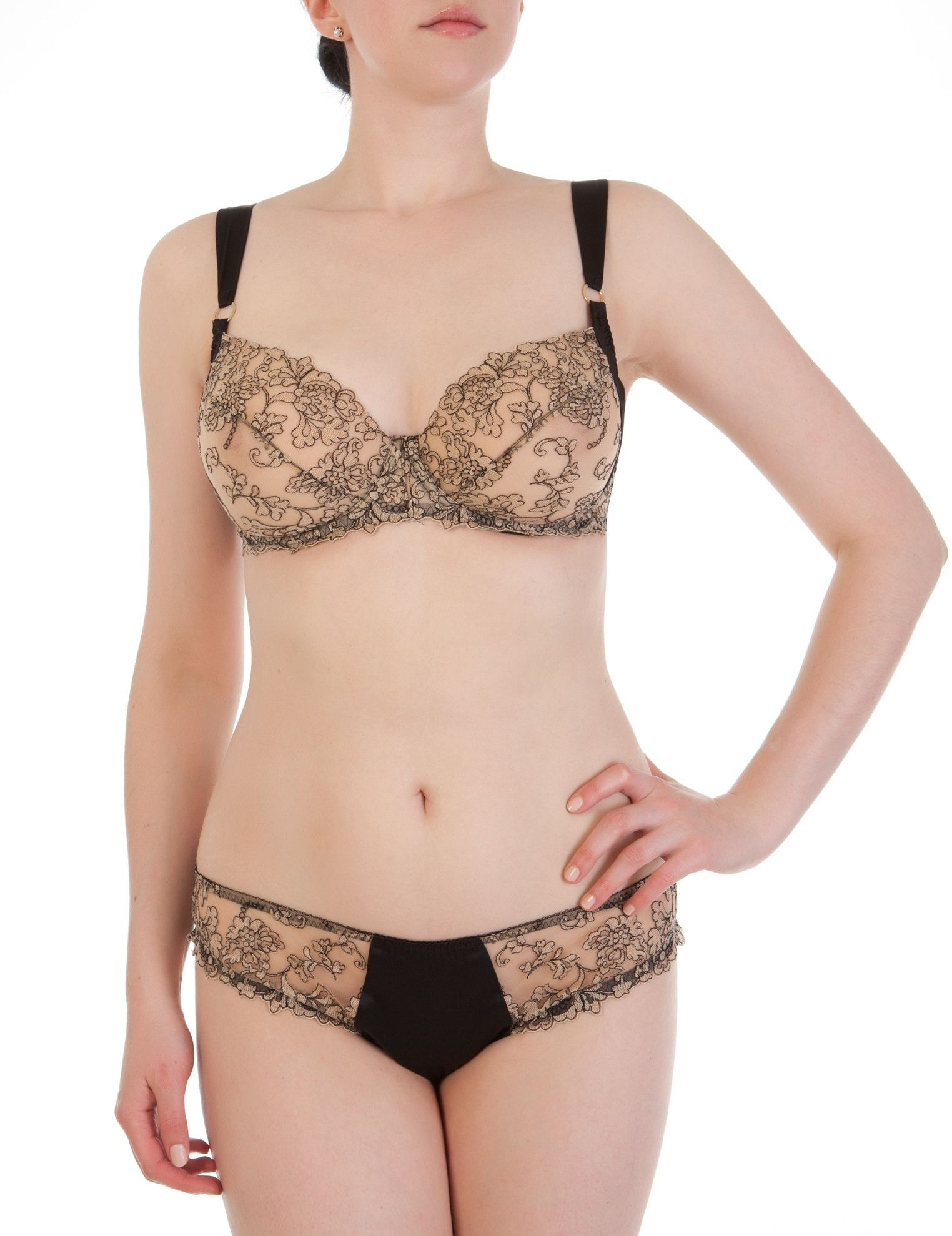 6b7e4a85f3e73 Harlow and Fox Isabelle luxury full bust bra set
