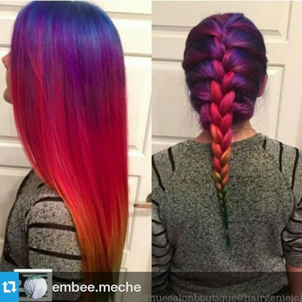 #Repost @embee.meche ・・・ @hairgeniejo gives us
