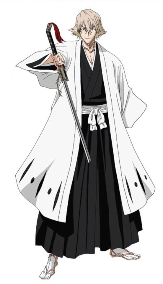 Urahara Kisuke as Captain of t...