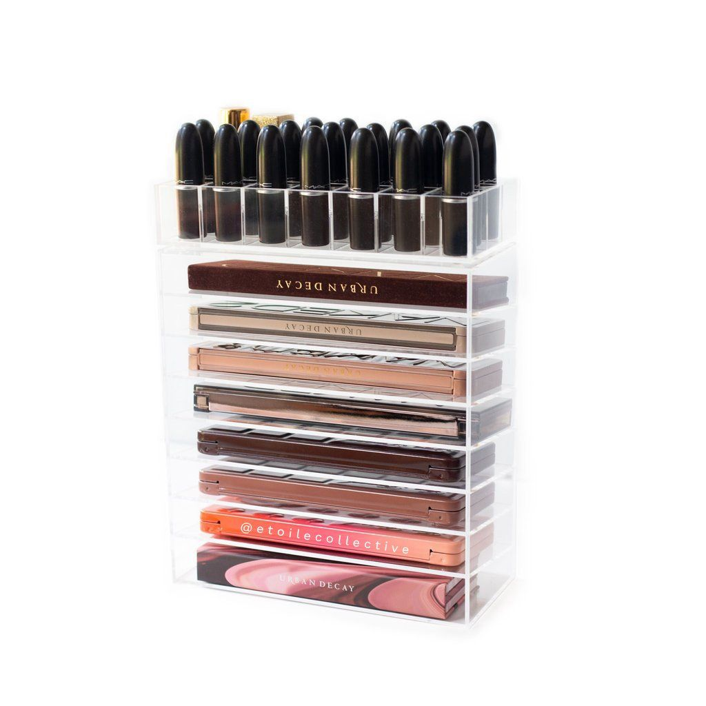 Combination Palette Holder Eyeshadow Palette Storage Trendy Eyeshadow Acrylic Makeup Storage