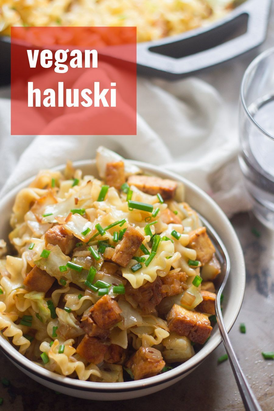 Traditional Haluski Goes Vegan Cabbage And Onions Are Stir