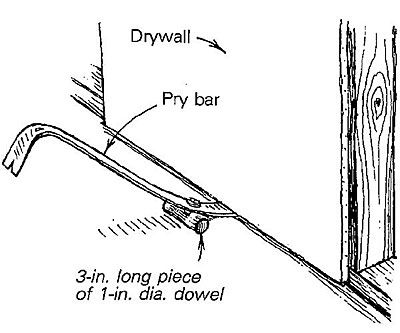 Drywall Kicker I Have To Hang Some Drywall Once In A While But Not Often Enough To Justify Investing In A Real Dryw Drywall Building A House Hanging Drywall