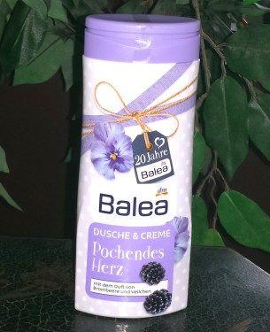 Balea Dusche & Creme Pochendes Herz mit dem Duft von