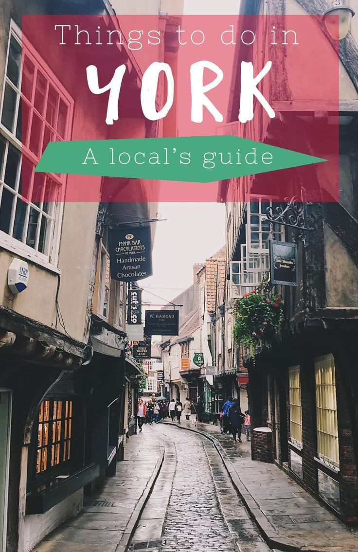 Video and article, featuring all the best things to do in York, from visiting the Shambles to where to find the best food in York.