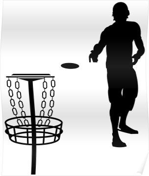 Disc Golf Silhouette Funny Golf Shirts Redbubble Podartist