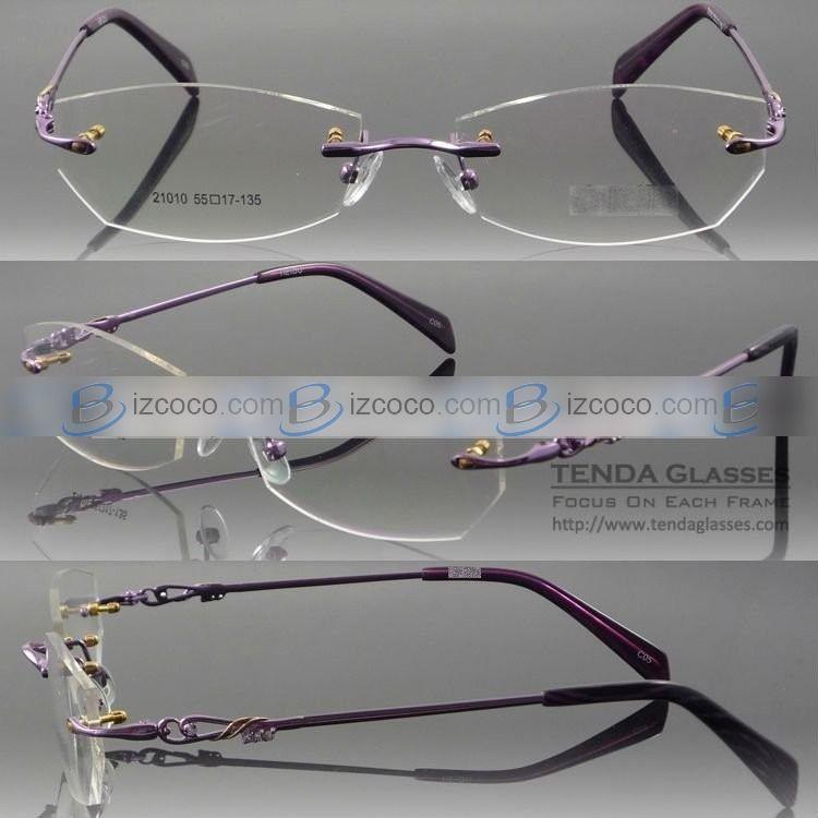 a2a6c69dc Popular Designer Rimless Eyeglass Frames (8008R) | Eyeglasses ...