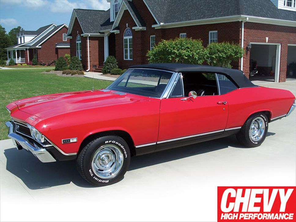 1968 Chevelle Convertible With Images Chevy Muscle Cars Chevy Chevrolet Chevelle