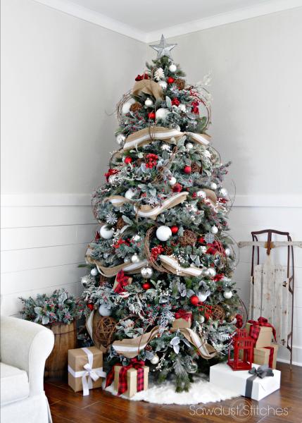 rustic christmas tree - Beautiful Christmas Tree