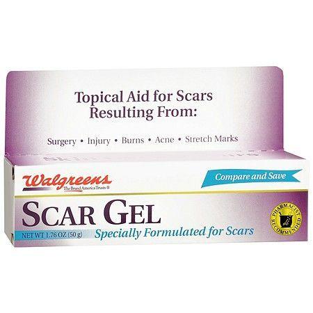 Walgreens Scar Gel - 1 7 oz    Sensitve Skin Care   Facial