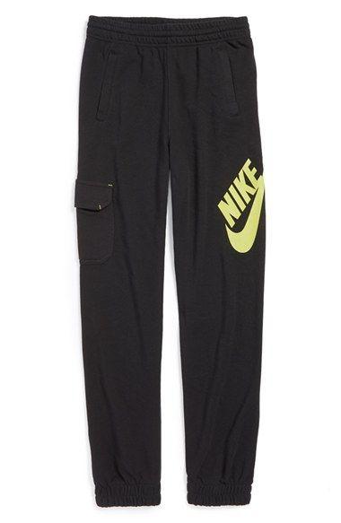 71e1957a6 Nike 'SB Logo' Jogger Sweatpants (Big Boys) | joggers in 2019 ...