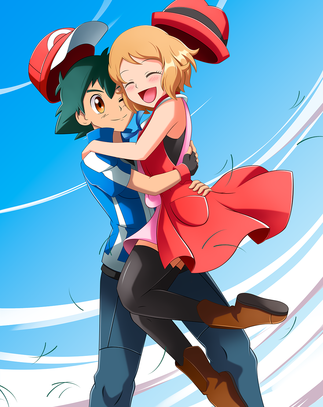 Ash X Serena Amourshipping Day By Bicoitor On Deviantart Pokemon Ash And Serena Pokemon Cute Pokemon