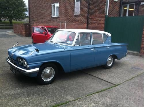 Ford Consul 315 1963 On Car And Classic Uk C359481 British