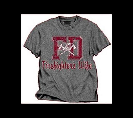 5ab5764373e Firefighter's Wife T-Shirt   Firefighter Apparel   Pinterest ...