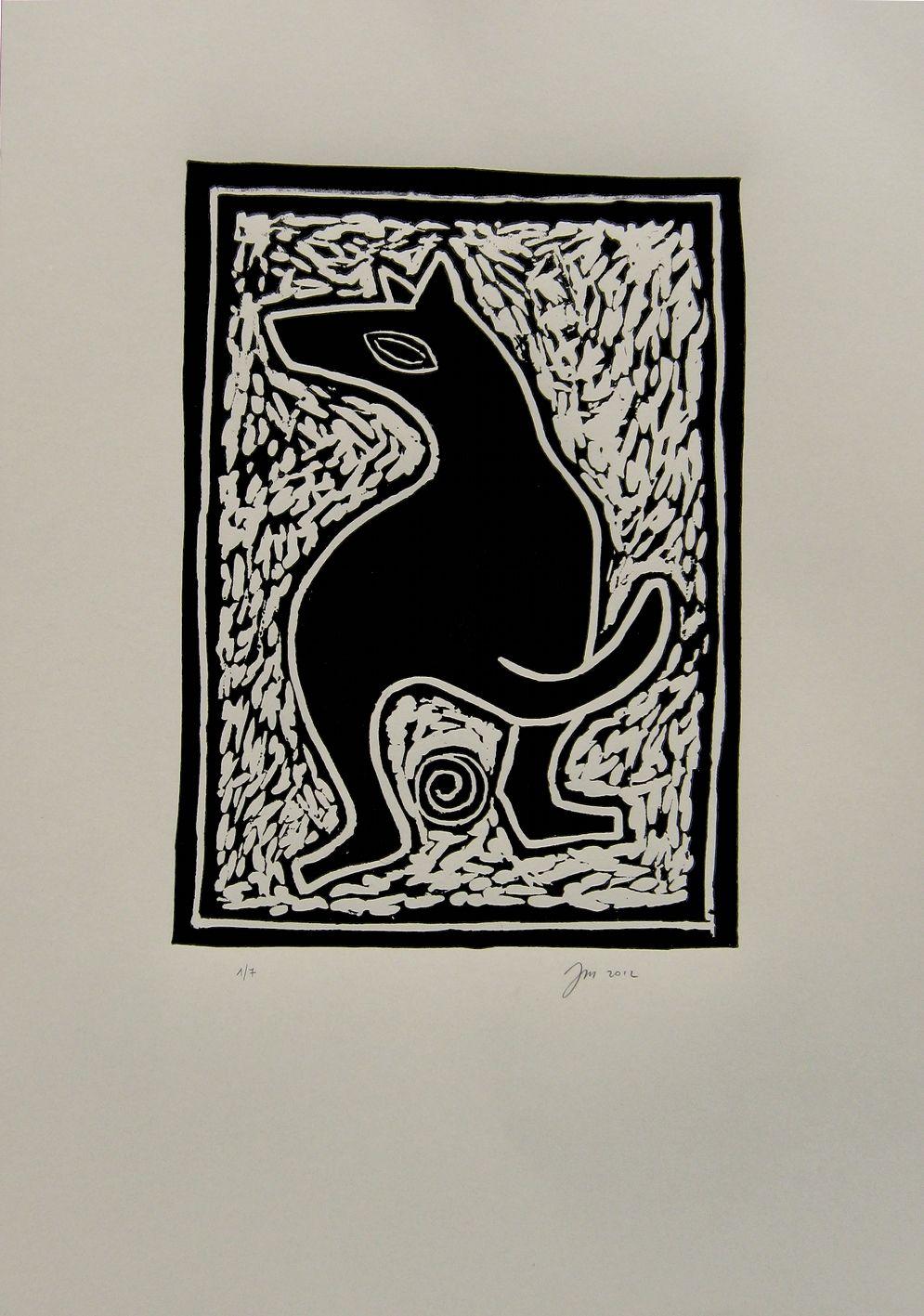"""andrea mattiello """"karma""""    adigrafia su carta tir. da 1/7 a 3/7 cm 35x50; 2012"""