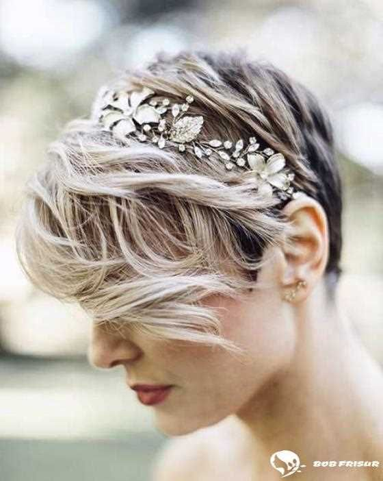 10 Wedding Hairstyles For Short To Mid Length Hair 2019 2020 Short Wedding Hair Short Hair Bride Short Hair Updo