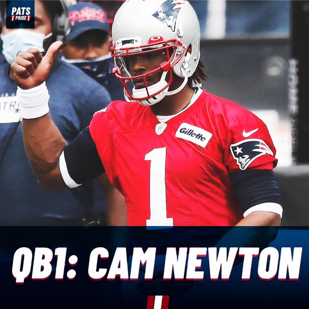 The Patriots Have Named Cam Newton As The Patriots Starting Qb For This Season He Is Also A Captain Cameron1new In 2020 Cam Newton Patriots New England Patriots