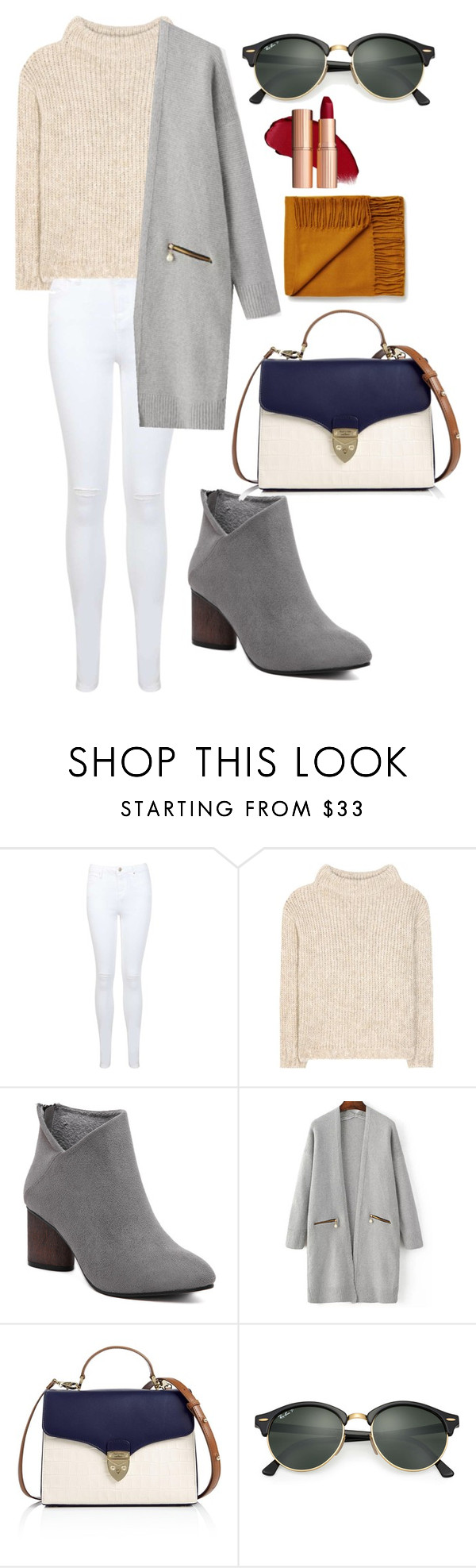 """winter"" by annisarestanti ❤ liked on Polyvore featuring Miss Selfridge, Tom Ford, Aspinal of London and Ray-Ban"
