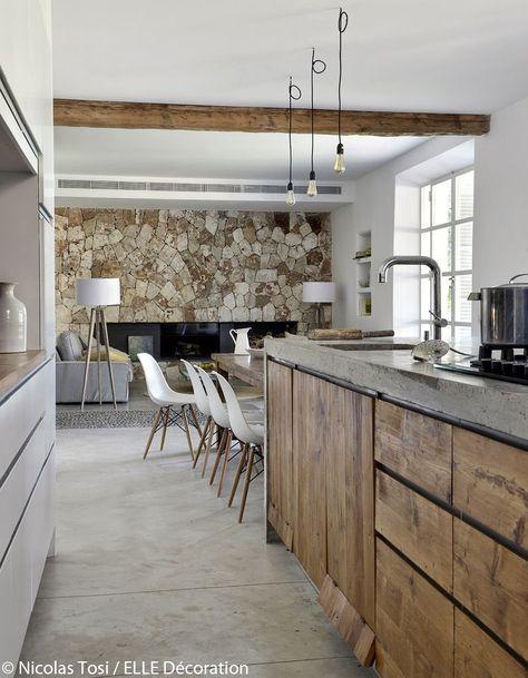 Cuisine Moderne Dans Maison En Pierre: Dans Une Maison De Rêve à Majorque