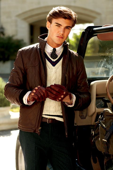 Patrick, Polo RL Leather Quilted, 2010   Tennis Sweaters ... : quilted leather gloves mens - Adamdwight.com