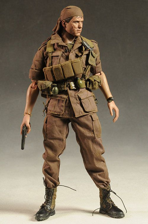 hot toys platoon barnes sixth scale action figure action figures scale and action. Black Bedroom Furniture Sets. Home Design Ideas