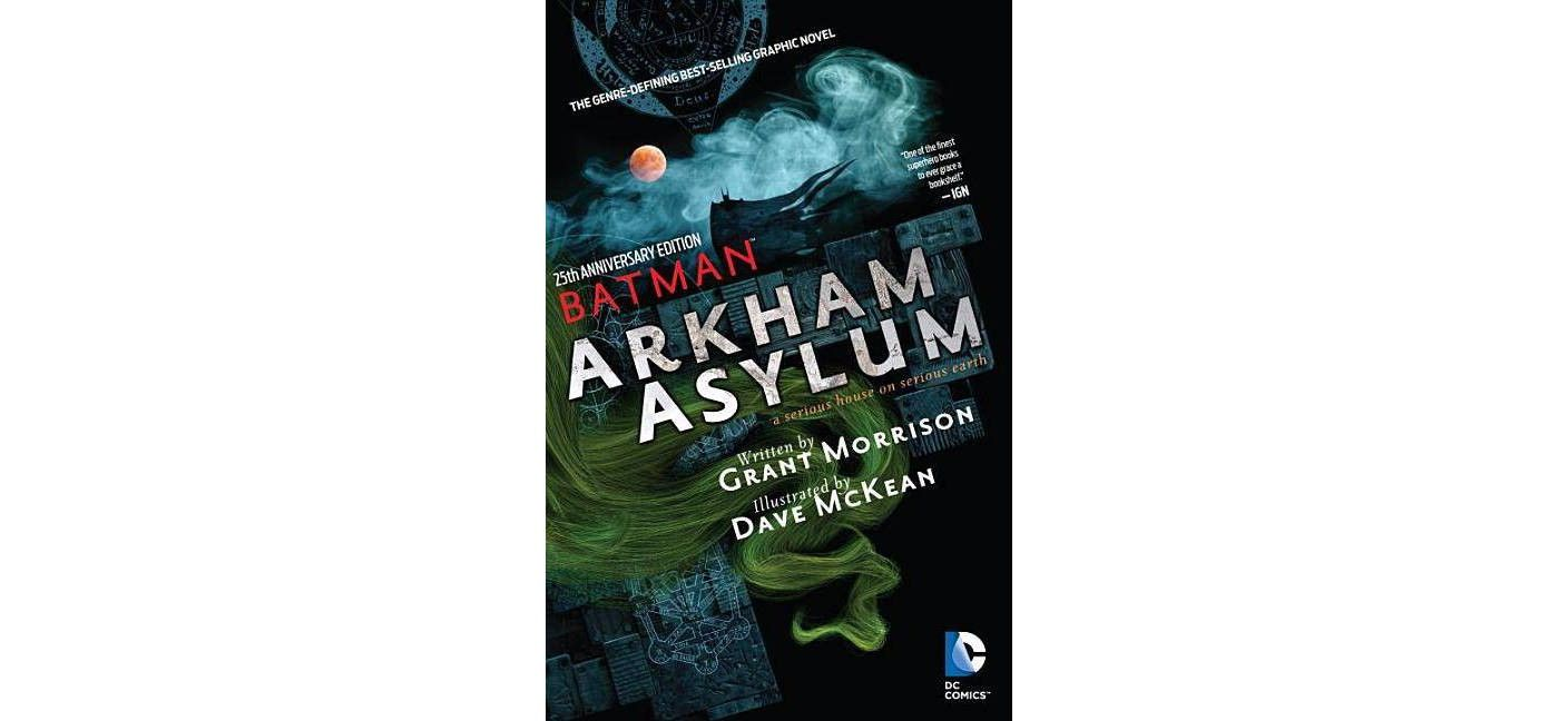 Batman Arkham Asylum 25th Anniversary By Grant Morrison